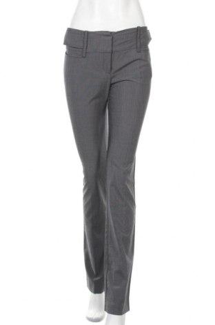 Дамски панталон Mango, Размер S, Цвят Син, 71% полиестер, 27% вискоза, 2% еластан, Цена 21,26лв.