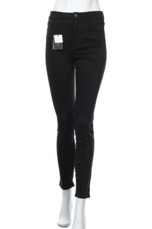 Γυναικείο παντελόνι Massimo Dutti, Μέγεθος S, Χρώμα Μαύρο, 67% βαμβάκι, 30% lyocell, 3% ελαστάνη, Τιμή 16,06€
