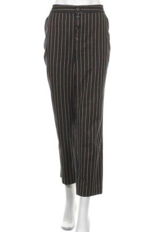 Γυναικείο παντελόνι Massimo Dutti, Μέγεθος L, Χρώμα Μαύρο, 55% βαμβάκι, 45% βισκόζη, Τιμή 29,88€