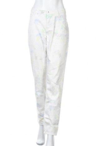 Дамски панталон Mirage, Размер L, Цвят Бял, 79% памук, 19% полиестер, 2% еластан, Цена 7,74лв.
