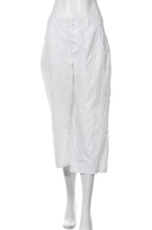 Дамски панталон Nadia Nardi, Размер L, Цвят Бял, Памук, Цена 10,66лв.