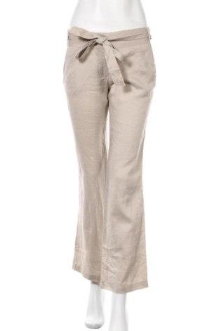 Γυναικείο παντελόνι Naf Naf, Μέγεθος M, Χρώμα  Μπέζ, 100% ραμί, Τιμή 20,78€