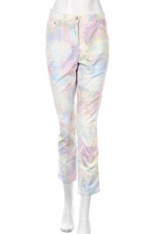 Дамски панталон Raphaela By Brax, Размер M, Цвят Многоцветен, 73% памук, 24% полиестер, 3% еластан, Цена 20,79лв.