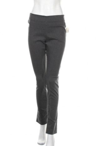 Дамски панталон Rw & Co., Размер M, Цвят Сив, 47% полиестер, 25% вискоза, 24% полиакрил, 4% еластан, Цена 50,40лв.