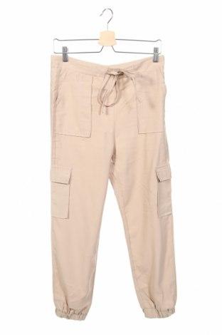 Γυναικείο παντελόνι Sinsay, Μέγεθος S, Χρώμα  Μπέζ, 93% βισκόζη, 7% ελαστάνη, Τιμή 14,36€