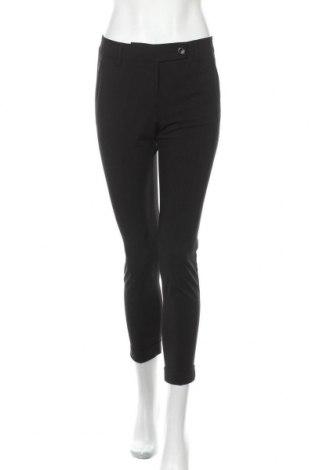 Γυναικείο παντελόνι Stefanel, Μέγεθος S, Χρώμα Μαύρο, 62% πολυεστέρας, 33% βισκόζη, 5% ελαστάνη, Τιμή 20,04€