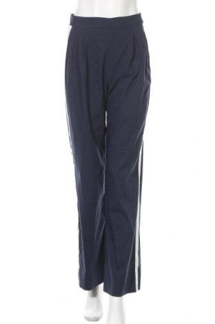 Γυναικείο παντελόνι Stefanel, Μέγεθος XS, Χρώμα Μπλέ, 70% βαμβάκι, 26% πολυαμίδη, 4% ελαστάνη, Τιμή 24,05€