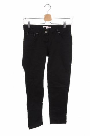 Дамски панталон Tally Weijl, Размер XS, Цвят Черен, 98% памук, 2% еластан, Цена 18,38лв.
