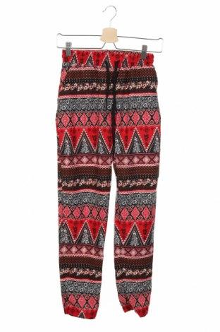 Γυναικείο παντελόνι Terranova, Μέγεθος XXS, Χρώμα Πολύχρωμο, Πολυεστέρας, Τιμή 13,45€