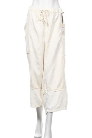 Γυναικείο παντελόνι Ulla Popken, Μέγεθος 3XL, Χρώμα Λευκό, 59% βισκόζη, 41% βαμβάκι, Τιμή 9,32€