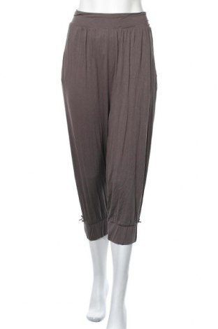 Γυναικείο παντελόνι Ulla Popken, Μέγεθος L, Χρώμα Καφέ, 95% βισκόζη, 5% ελαστάνη, Τιμή 12,28€