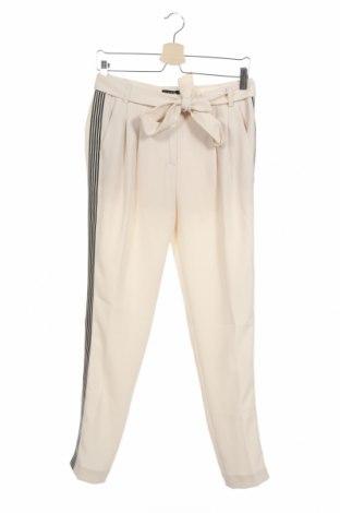 Γυναικείο παντελόνι Un Deux Trois, Μέγεθος XS, Χρώμα  Μπέζ, Πολυεστέρας, Τιμή 18,51€