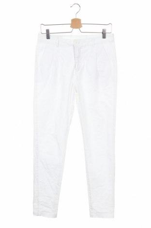 Дамски панталон Vero Moda, Размер S, Цвят Бял, Памук, Цена 7,09лв.