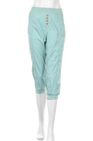 Дамски панталон Vintage, Размер M, Цвят Зелен, Памук, Цена 10,40лв.