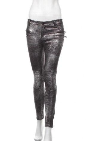 Дамски панталон Zara, Размер M, Цвят Сребрист, Цена 9,07лв.