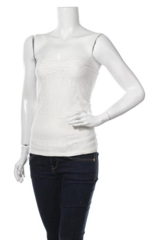 Дамски потник Ann Christine, Размер S, Цвят Бял, 95% полиестер, 5% еластан, Цена 3,00лв.