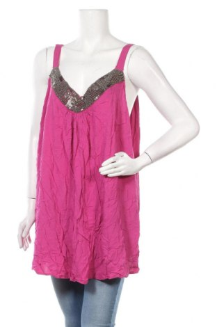 Γυναικείο αμάνικο μπλουζάκι Autograph, Μέγεθος XL, Χρώμα Ρόζ , Βισκόζη, Τιμή 3,51€