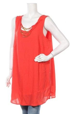 Γυναικείο αμάνικο μπλουζάκι Autograph, Μέγεθος XXL, Χρώμα Πορτοκαλί, 100% πολυεστέρας, Τιμή 10,52€