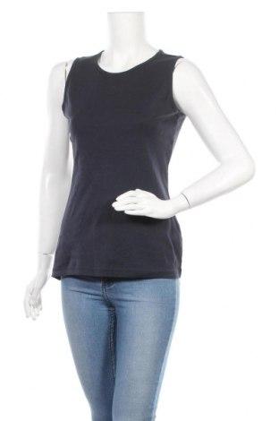 Γυναικείο αμάνικο μπλουζάκι Charles Vogele, Μέγεθος L, Χρώμα Μπλέ, Βαμβάκι, Τιμή 7,73€