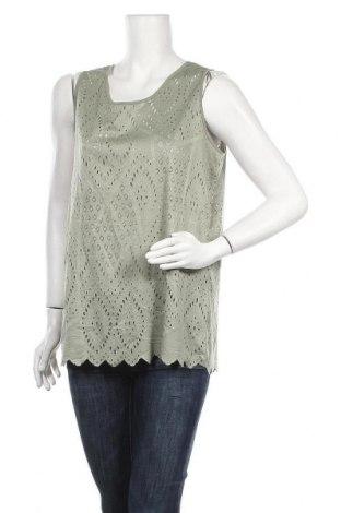 Γυναικείο αμάνικο μπλουζάκι Charles Vogele, Μέγεθος L, Χρώμα Πράσινο, Πολυεστέρας, Τιμή 3,41€
