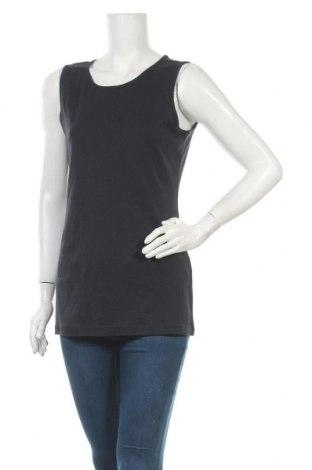 Γυναικείο αμάνικο μπλουζάκι Charles Vogele, Μέγεθος L, Χρώμα Μπλέ, Βαμβάκι, Τιμή 2,95€