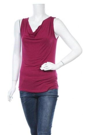 Γυναικείο αμάνικο μπλουζάκι Charles Vogele, Μέγεθος XS, Χρώμα Ρόζ , 95% βισκόζη, 5% ελαστάνη, Τιμή 7,79€