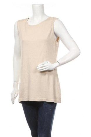 Γυναικείο αμάνικο μπλουζάκι Charles Vogele, Μέγεθος XXL, Χρώμα  Μπέζ, Βαμβάκι, Τιμή 9,35€