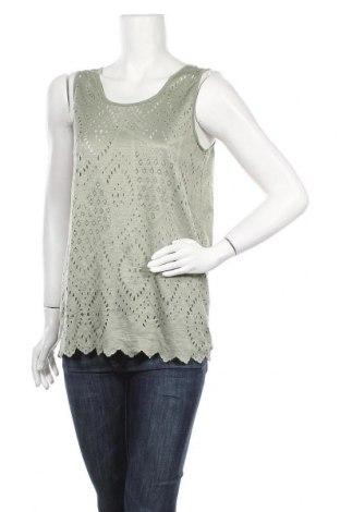 Γυναικείο αμάνικο μπλουζάκι Charles Vogele, Μέγεθος M, Χρώμα Πράσινο, Πολυεστέρας, Τιμή 6,82€