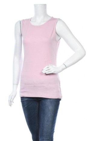 Γυναικείο αμάνικο μπλουζάκι Charles Vogele, Μέγεθος L, Χρώμα Ρόζ , Βαμβάκι, Τιμή 6,82€