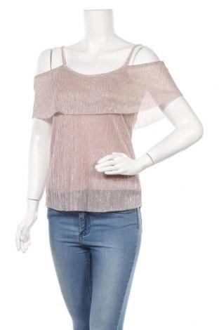 Γυναικεία μπλούζα Clockhouse, Μέγεθος S, Χρώμα Ρόζ , 55% μεταλλικά νήματα, 45% πολυεστέρας, Τιμή 9,25€