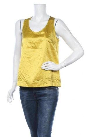 Дамски потник Closed, Размер L, Цвят Жълт, 55% коприна, 45% памук, Цена 19,95лв.