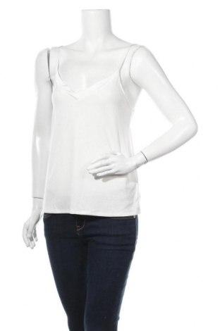 Γυναικείο αμάνικο μπλουζάκι Etam, Μέγεθος S, Χρώμα Εκρού, 62% πολυεστέρας, 33% βισκόζη, 5% ελαστάνη, Τιμή 13,92€