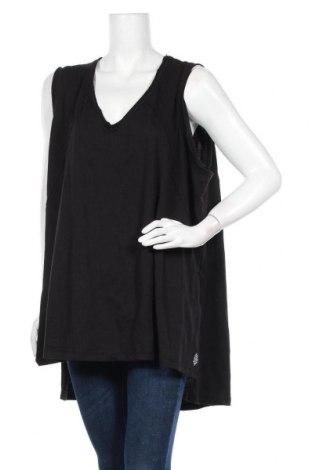 Γυναικείο αμάνικο μπλουζάκι Free People, Μέγεθος M, Χρώμα Μαύρο, 50% πολυεστέρας, 37% βαμβάκι, 13% βισκόζη, Τιμή 29,73€