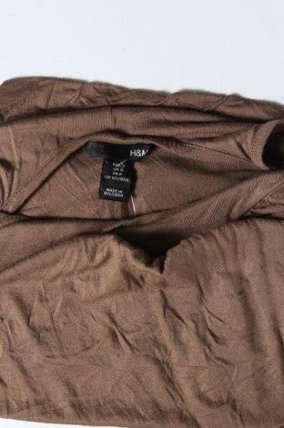 Дамски потник H&M, Размер S, Цвят Кафяв, 100% вискоза, Цена 3,00лв.