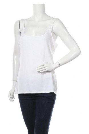 Γυναικείο αμάνικο μπλουζάκι J.Crew, Μέγεθος XL, Χρώμα Λευκό, 80% μοντάλ, 12% ελαστάνη, Τιμή 21,17€