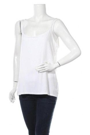 Γυναικείο αμάνικο μπλουζάκι J.Crew, Μέγεθος XXL, Χρώμα Λευκό, 88% μοντάλ, 12% ελαστάνη, Τιμή 21,17€