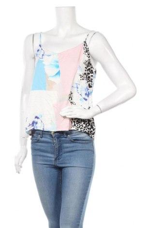 Γυναικείο αμάνικο μπλουζάκι Mbym, Μέγεθος M, Χρώμα Πολύχρωμο, Βισκόζη, Τιμή 9,35€