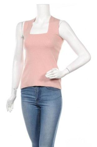 Γυναικείο αμάνικο μπλουζάκι Mint & Berry, Μέγεθος S, Χρώμα Ρόζ , 54% βισκόζη, 46% πολυαμίδη, Τιμή 13,92€