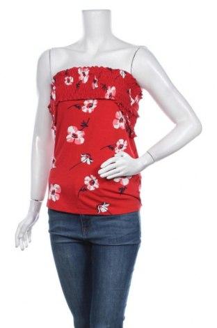 Γυναικείο αμάνικο μπλουζάκι Mint & Berry, Μέγεθος L, Χρώμα Κόκκινο, 96% βισκόζη, 4% ελαστάνη, Τιμή 10,05€