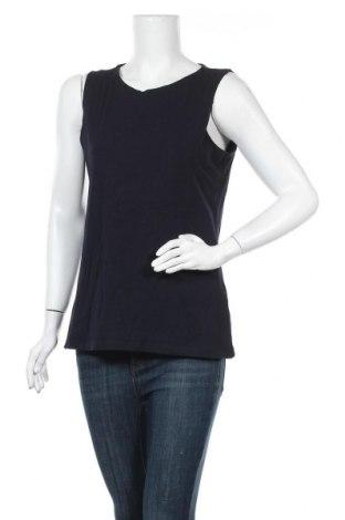 Γυναικείο αμάνικο μπλουζάκι More & More, Μέγεθος L, Χρώμα Μπλέ, 95% βαμβάκι, 5% ελαστάνη, Τιμή 11,21€