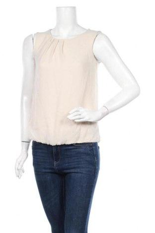 Γυναικείο αμάνικο μπλουζάκι More & More, Μέγεθος XS, Χρώμα  Μπέζ, Πολυεστέρας, Τιμή 22,81€