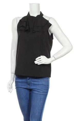 Γυναικείο αμάνικο μπλουζάκι Naoko, Μέγεθος L, Χρώμα Μαύρο, 70% βισκόζη, 30% πολυεστέρας, Τιμή 9,38€