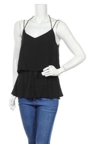 Γυναικείο αμάνικο μπλουζάκι Object, Μέγεθος M, Χρώμα Μαύρο, Πολυεστέρας, Τιμή 9,38€