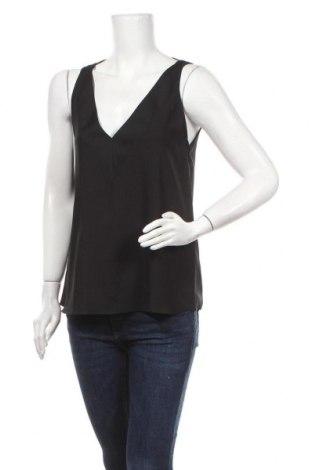 Γυναικείο αμάνικο μπλουζάκι River Island, Μέγεθος M, Χρώμα Μαύρο, Πολυεστέρας, Τιμή 10,05€