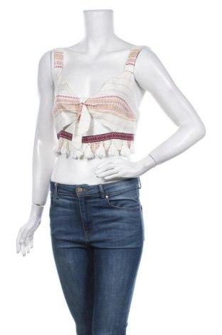 Γυναικείο αμάνικο μπλουζάκι River Island, Μέγεθος S, Χρώμα Πολύχρωμο, 99% βισκόζη, 1% μεταλλικά νήματα, Τιμή 10,05€