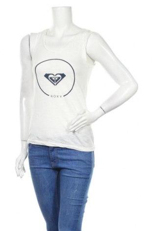 Γυναικείο αμάνικο μπλουζάκι Roxy, Μέγεθος XS, Χρώμα Λευκό, Τιμή 10,25€