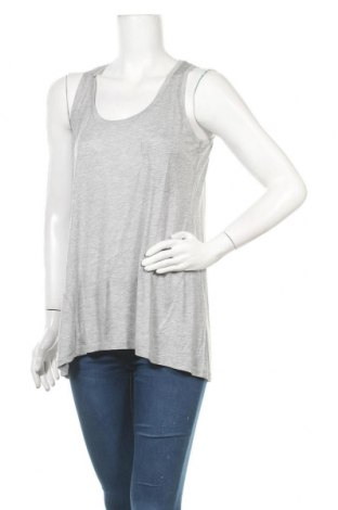 Γυναικείο αμάνικο μπλουζάκι SUN68, Μέγεθος M, Χρώμα Γκρί, Μοντάλ, Τιμή 23,65€
