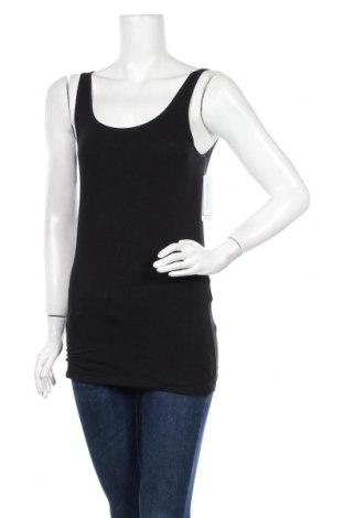 Γυναικείο αμάνικο μπλουζάκι Schiesser, Μέγεθος L, Χρώμα Μαύρο, 95% βαμβάκι, 5% ελαστάνη, Τιμή 10,53€