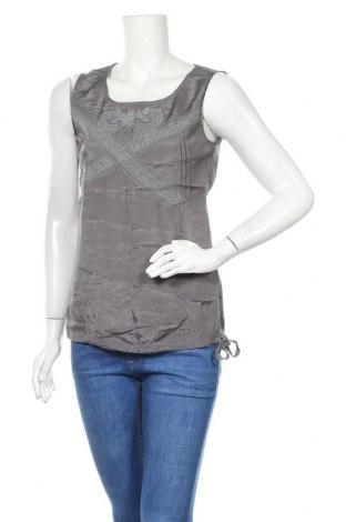 Tricou de damă Street One, Mărime M, Culoare Gri, Viscoză, Preț 13,26 Lei
