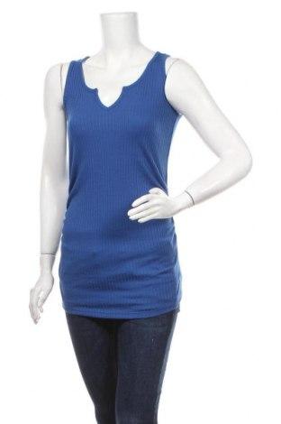 Γυναικείο αμάνικο μπλουζάκι Supermom, Μέγεθος S, Χρώμα Μπλέ, 65% πολυεστέρας, 35% βισκόζη, Τιμή 7,54€